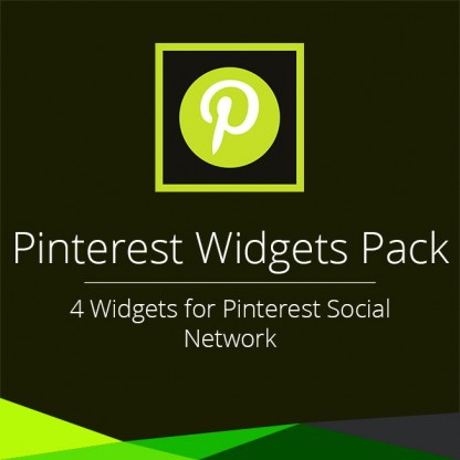 Pinterest Widgets Pack