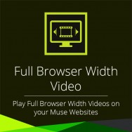 Full Browser Width Video