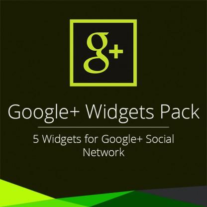 Google+ Widgets Pack