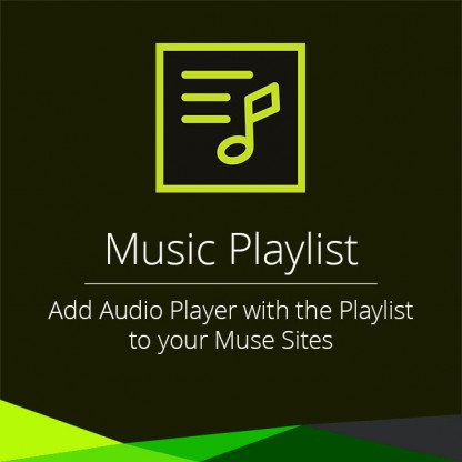 Music Playlist Widget
