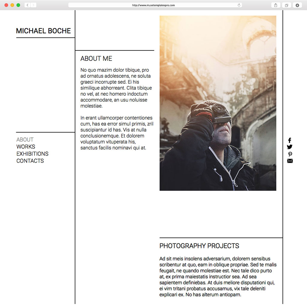 Adobe Muse Templates and Themes | Download Muse Templates