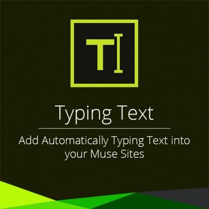Typing Text Widget