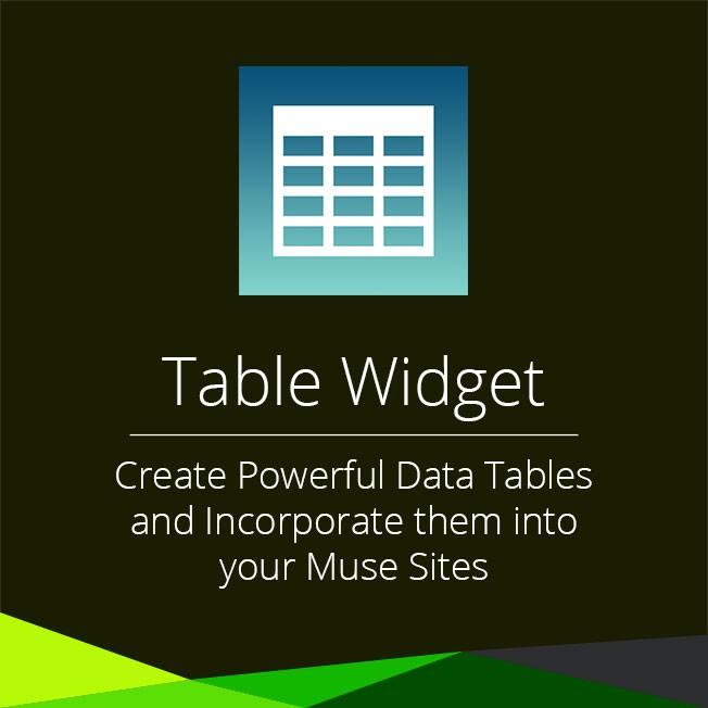Table Widget