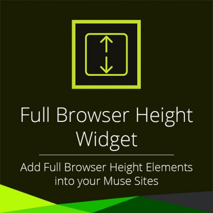 Full Browser Height Widget